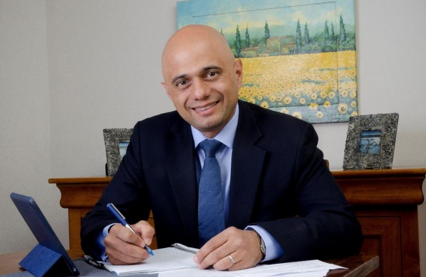 Rt. Hon. Sajid Javid MP
