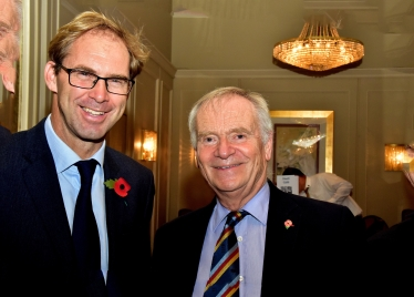Tobias and our guest, Lord Jeffrey Archer